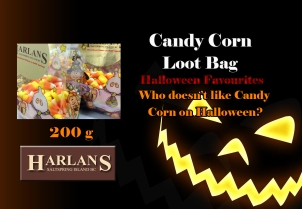 Candy Corn Loot Bag