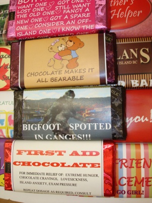 novelty bars